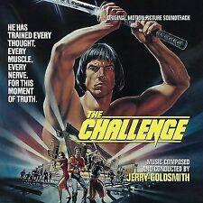 The Challenge Soundtrack Jerry Goldsmith CD Ltd Ed 17 Cues