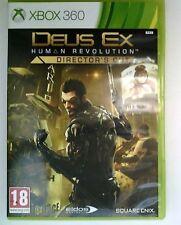 Deus Ex: Human Revolution - Director's Cut (Microsoft Xbox 360, 2013) TESTED
