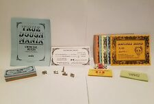 """ TRUE DOUGH MANIA "" replacement parts tokens directions cards money & more"