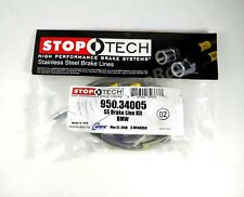 STOPTECH SS BRAIDED FRONT BRAKE LINES FOR BMW 01-06 330Ci / 01-05 330i 02 03 04