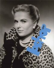 Rare MARTHA HYER photo Hollywood Glamour Gorgeous Sexy Blonde Fancy Coat Gloves