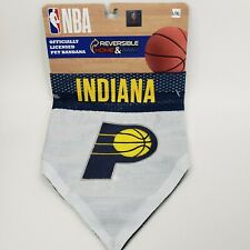 Indiana Pacers NBA Over The Collar Dog Bandana Large / X-Large dogs L/XL NEW NBA