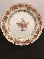 "Vintage Gold Castle HOSTESS 8 3/4"" Luncheon Plate"