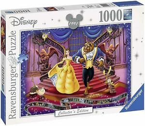 NEW! Ravensburger Disney Moments 1991 Beauty and the Beast 1000pc Puzzle