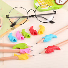 10pcs Learning Partner Kids Stationery Pencil Holding Practise Device Silicone