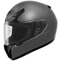 SHOEI RF-SR FULL FACE MOTORCYCLE HELMET DEEP MATTE GREY XXLARGE 2XL 0107-0137-08