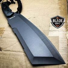 """16"""" SURVIVAL HUNTING Bowie Military FULL TANG MACHETE Fixed Blade Knife SWORD-a"""