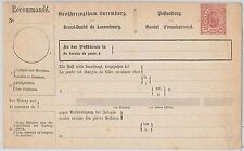 LUXEMBOURG - POSTAL STATIONERY : MONEY ORDER - Michel # PAU 1