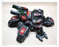 "StarCraft 2 Terran Human the Crucio Siege Tank DIY Paper Model 11cm=4"" Tall"