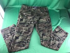 Topman Slim Chino Camouflage Button Pants Mens 34 R