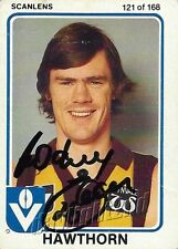 ✺Signed✺ 1981 HAWTHORN HAWKS AFL Card RODNEY EADE