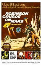 "Robinson Crusoe On Mars Movie Poster Mini 11""X17"""