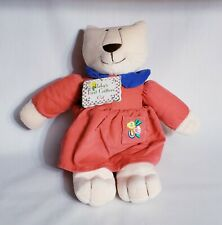 Vintage North American Bear Co. Baby's First Critters Cat Plush Stuffed Animal