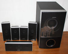 Sony 5.1 Surround Sound Speaker Set, Subwoofer SS-WS74, SX-CT71 SS-TS72 SS-TS71
