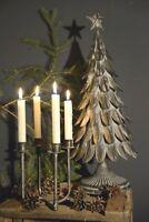 Vintage Kerzenhalter Adventskerzenständer Kerzenständer Gold Advent X-Mas Gr.S