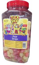 Tuck Shop Pear Drops Boiled Sweets Tub3Kg