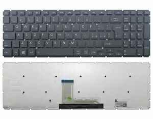 New For Toshiba AEBLYI00210 V148046BK1-IT IT Italian Black Keyboard