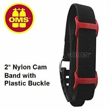 "OMS 2"" Nylon Cam Band w/Plastic Buckle-36"" length and OMS Frictian Pad"