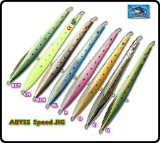 Williamson Abyss Speed Jig 100g Jigging Lure Sea Fishing Bait