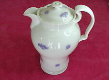 """Adderley (Chelsea) 8"""" TEA CANISTER / PITCHER & LID very rare"""
