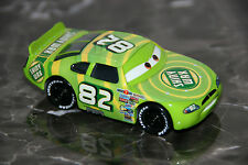 "DISNEY PIXAR CARS ""#82 SHINY WAX"" HARD PLASTIC TIRES, LOOSE, SHIP WW"