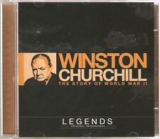 WINSTON CHURCHILL THE STORY OF WORLD WAR II LEGENDS CD ORIGINAL RECORDINGS
