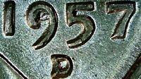 1957 D WHEAT CENT TRIPLE D RPM!MAJOR DDO DDR DIE CHIP IN DATE LUSTROUS UNC BU MS