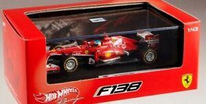 Ferrari F138 Fernando Alonso 2013 Hotwheels 1.43 new BCK16