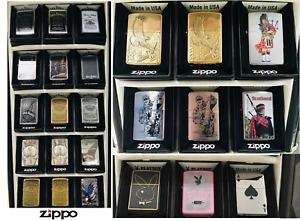 Zippo Genuine Windproof Refillable Cigarette Lighters