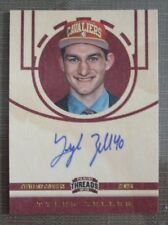2012-13 Panini Threads #217 - Tyler Zeller - Autograph Rookie Card