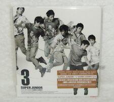 K-POP Super Junior Vol.3 Sorry Taiwan CD Ver.C +bonus 4 trks