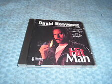David Heavener - Hit Man (CD) Rare 1993 EX/EX