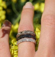 Ringe mit behandelte runde Echtschmuck aus Rotgold