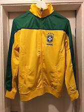 Brasil Zipper Jacket NWT Youth X-LARGE Yellow/Green