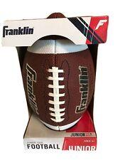 Franklin Junior Size Football Grip Rite Precision Stitch Sports Ball New