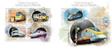 Channel Tunnel Speed Trains Railways Züge Transport Togo MNH stamp set
