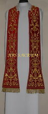 VESTMENT,CHASUBLE STOLA ,MESSGEWAND STOLE