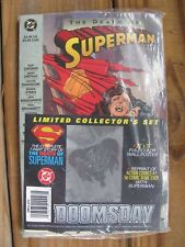 The Death of Superman~Comic Book~Limited Collector's Set~Sealed~1992