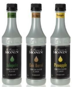 Monin 375 mL Concentrated Flavors  (select flavor below)