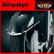 Kuryakyn Chrome Shark Tooth Fender Accents '01-'17 GL1800 & F6B 7320
