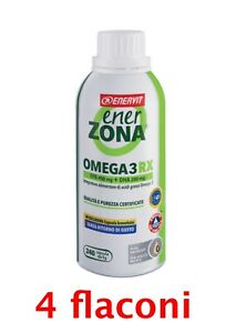 ENERVIT Enerzona Omega 3 240 cps x1g.scad. 2023 4 flaconi....