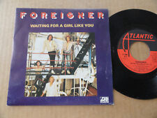"""DISQUE 45T DE FOREIGNER  """" WAITING FOR A GIRL LIKE YOU """""""