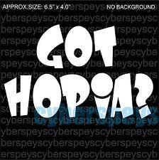 Philippine: Got Hopia? Art Design Car Vinyl Sticker Decals