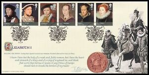 2009 GB The House of Tudor, Queen Elizabeth I Bradbury BFDC46 FDC London SHS