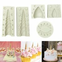 3D Unicorn Silicone Fondant Cake Decor Sugarcraft Mold Chocolate Baking Mould