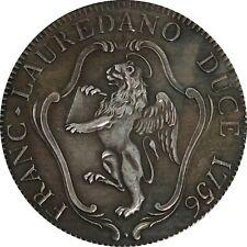 Moneta COPIA collezione tallero 1756 FRANCESCO LOREDAN 4cm Repubblica Veneta