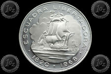 CHILE 10 PESOS 1968 (LIBERATION FLEET ARRIVAL) SILVER Comm. coin (KM# 183) PROOF