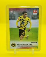 2020 Topps Now Bundesliga Giovanni Reyna First 17 Year Old 3 Assists BVB Rookie
