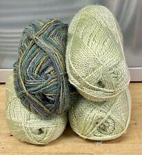 Knitting-Crochet-Yarn-420g-Greens-Light Sage-Spinning-Crafts-Pom Pom-7H