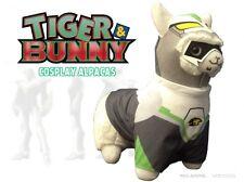 "NEW Tiger & Bunny Wild Tiger (Hero Suit) Cosplay Alpaca 12"" Prime Plush YACA003"